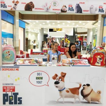 Promo Secret Life Of Pets in Mall of Sofia